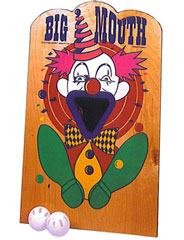 Big Mouth Ball Toss