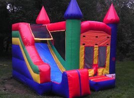 Combo Bounce and Slide (15' x 15')