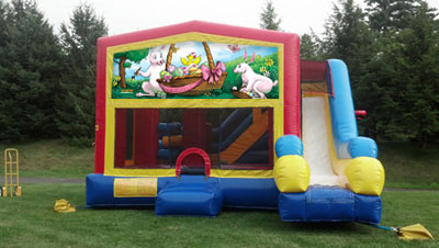 Easter 5-in-1 Combo Bounce (18' x 20')