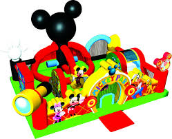 Mickey Learning Center (25' x 20' x 13)