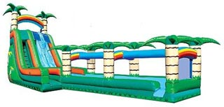 Extreme Obstacle Course with Slide (80' x 15')