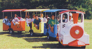 Trackless Train Seats (Seats 18)